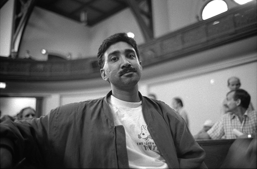 Sean Hosein, CATIE's Science and Medicine Editor, in 1992