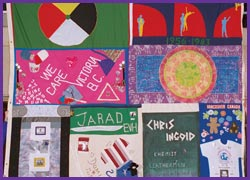 The Canadian AIDS Memorial Quilt